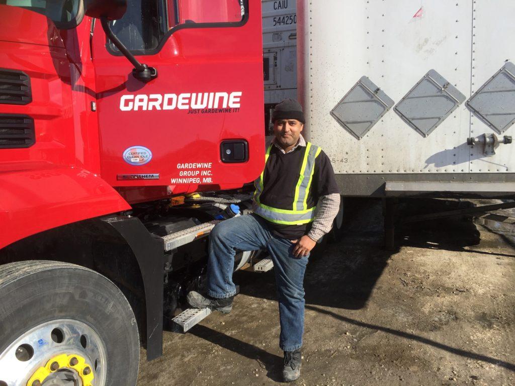 Gradewine Company's Professional Truck Driver - Drive With Us