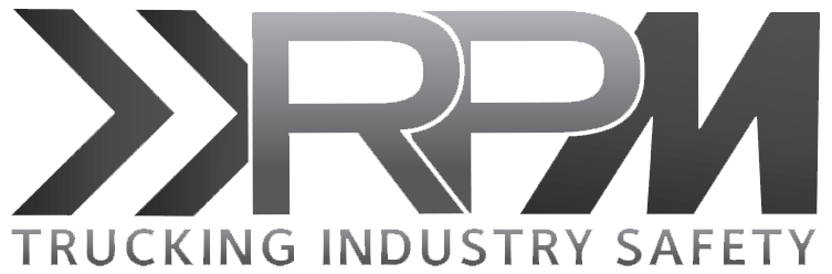 RPM Trucking Industry Safety Logo