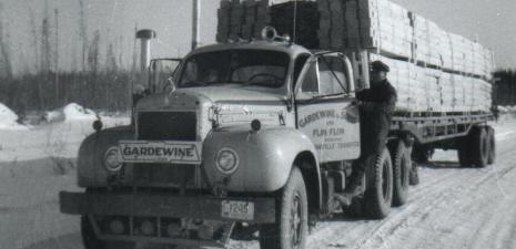 Gardewine & Sons First Truck Service Started in 1952 in Manitoba