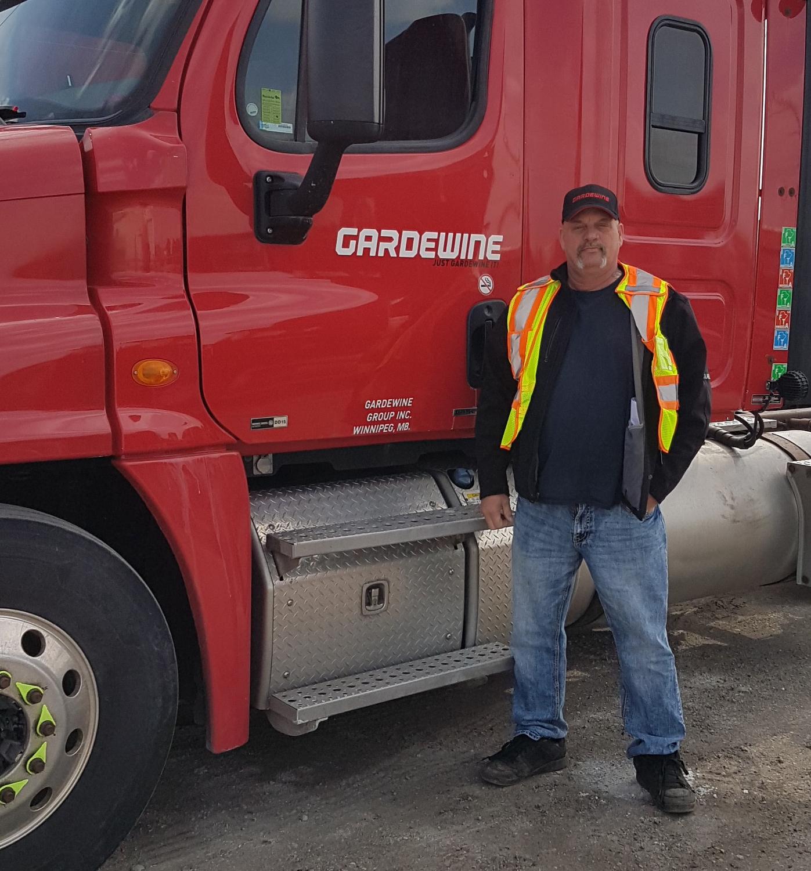 Professional Gradewine Company Truck Driver