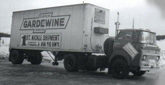 Gradewine Truck - Head Office Moves from Flin Flon to a Fife in 1966