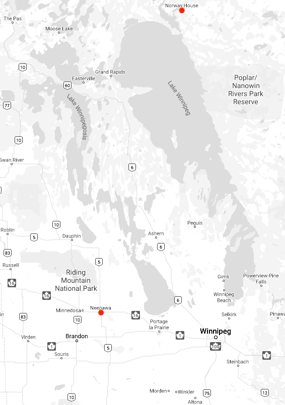Gradewine Expands in Northern and Central Manitoba between 1981 - 1988