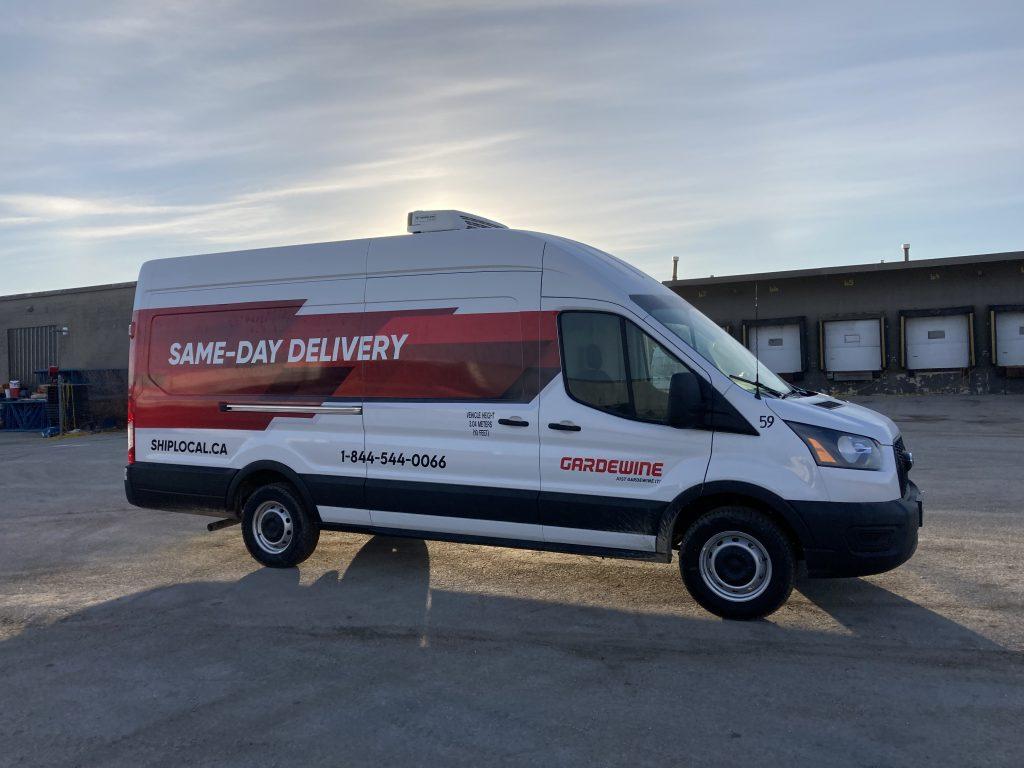 Same Day Delivery Truck - #ShipLocal Gardewine