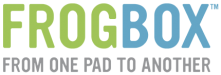 Logo of Frog Box - Form One Pad to Another